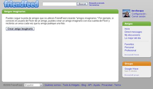 Google Wave, importar contactos o avisos de actualización.  29 Mayo 2009