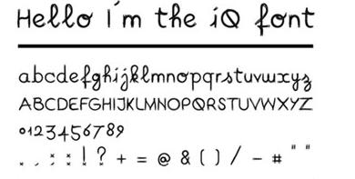 iq-font